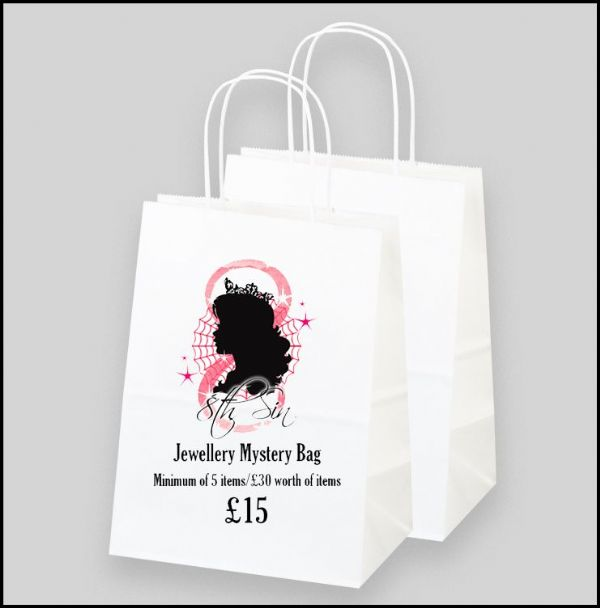 50% Discount - 8th Sin Jewellery Mystery Bag